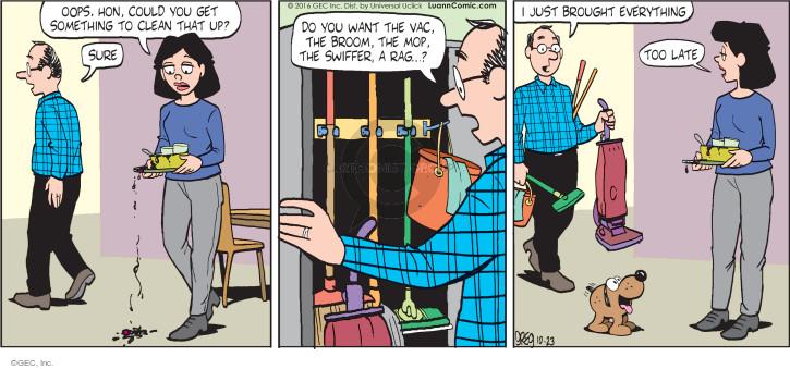 Comic Strip Greg Evans  Luann 2016-10-23 late