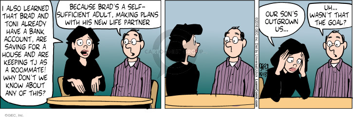 Comic Strip Greg Evans  Luann 2016-10-13 parenthood