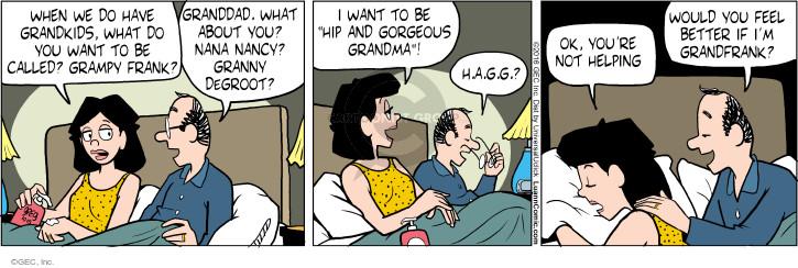 Comic Strip Greg Evans  Luann 2016-10-15 grandmother