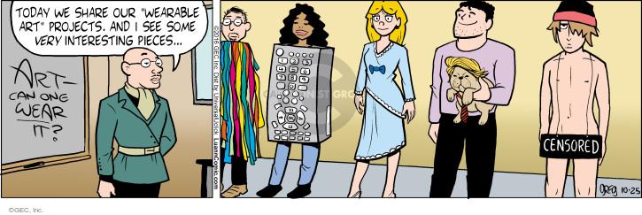 Comic Strip Greg Evans  Luann 2016-10-25 class