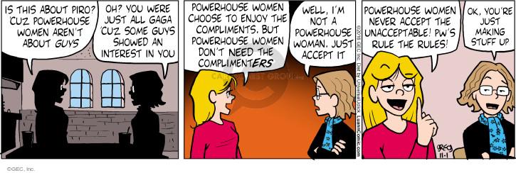 Comic Strip Greg Evans  Luann 2016-11-01 rule