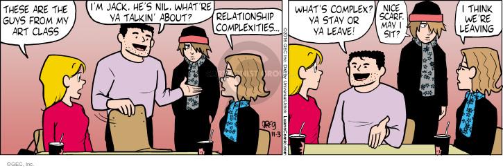 Comic Strip Greg Evans  Luann 2016-11-03 class