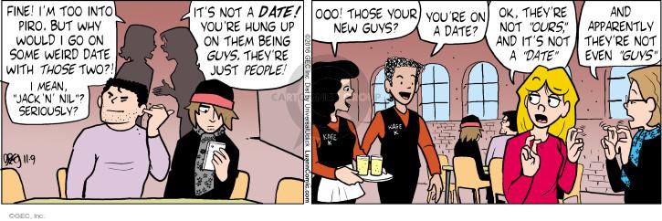 Cartoonist Greg Evans  Luann 2016-11-09 apparently