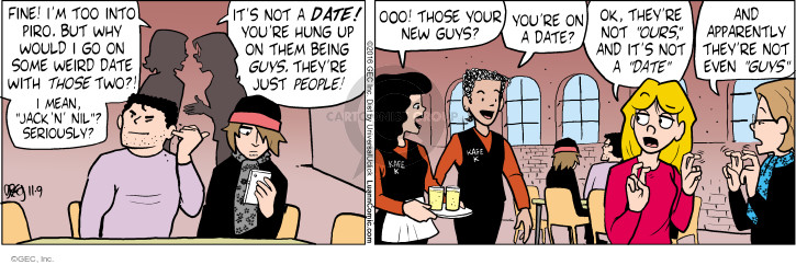 Comic Strip Greg Evans  Luann 2016-11-09 those
