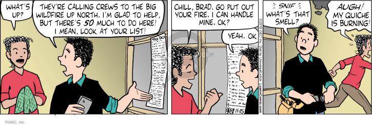 Comic Strip Greg Evans  Luann 2016-11-15 sniff