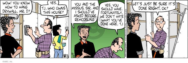 Comic Strip Greg Evans  Luann 2016-11-22 fall
