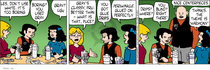 Comic Strip Greg Evans  Luann 2016-11-25 glue