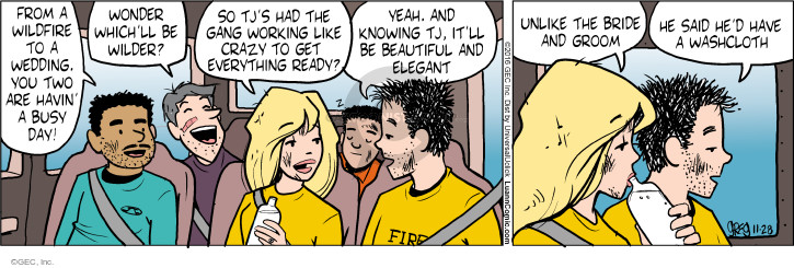 Comic Strip Greg Evans  Luann 2016-11-28 crazy