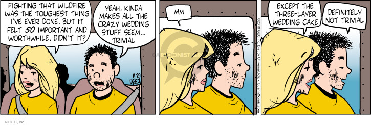 Comic Strip Greg Evans  Luann 2016-11-29 nuptials