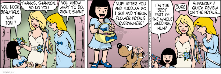 Comic Strip Greg Evans  Luann 2016-12-06 throw