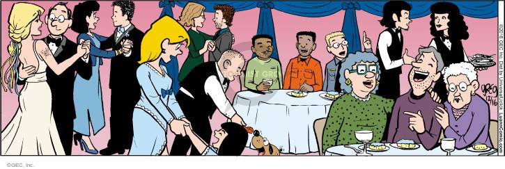 Comic Strip Greg Evans  Luann 2016-12-16 nuptials