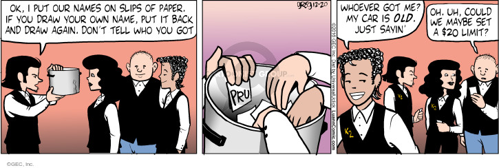 Comic Strip Greg Evans  Luann 2016-12-20 setting