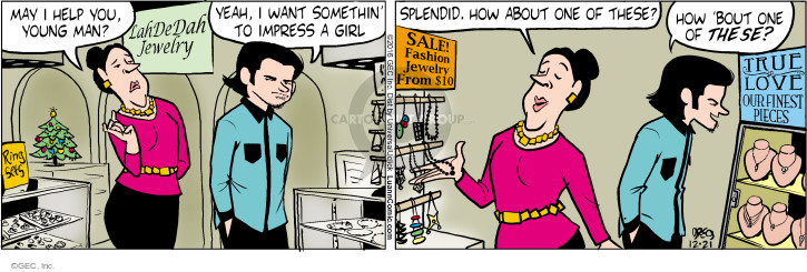 Comic Strip Greg Evans  Luann 2016-12-21 expensive
