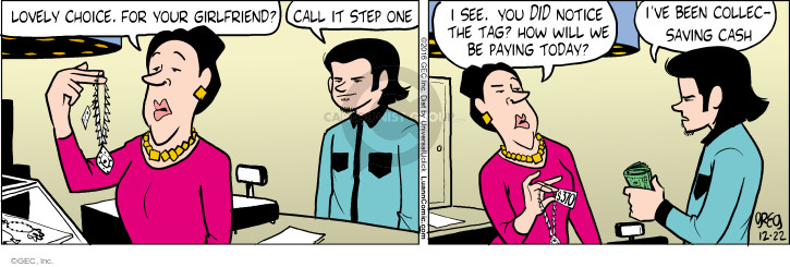 Comic Strip Greg Evans  Luann 2016-12-22 expensive
