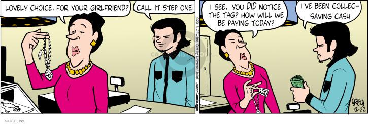 Comic Strip Greg Evans  Luann 2016-12-22 cost