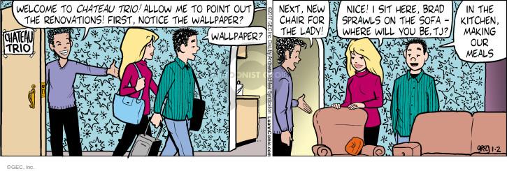 Comic Strip Greg Evans  Luann 2017-01-02 meal