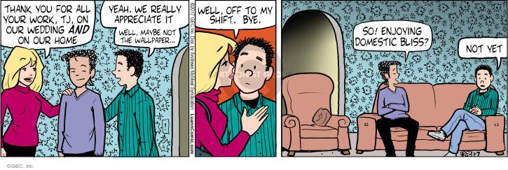 Comic Strip Greg Evans  Luann 2017-01-07 wedding