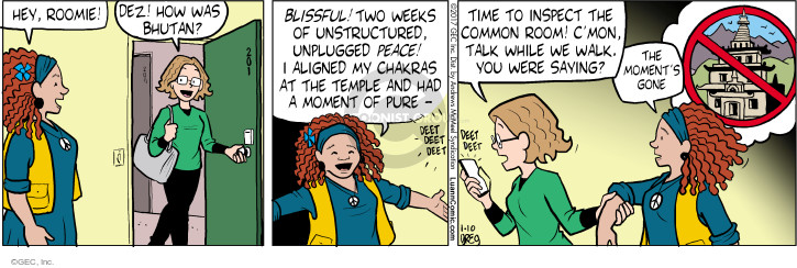 Comic Strip Greg Evans  Luann 2017-01-10 week