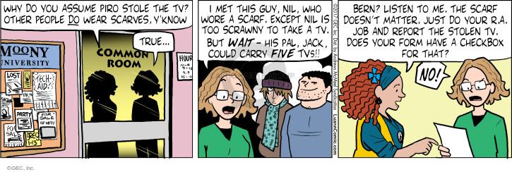 Comic Strip Greg Evans  Luann 2017-01-13 people