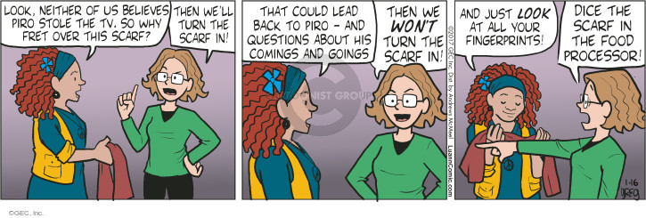 Comic Strip Greg Evans  Luann 2017-01-16 lead
