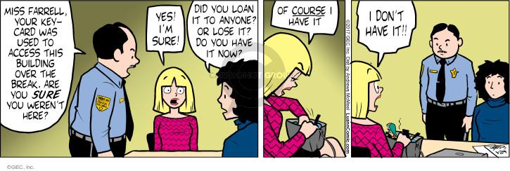 Comic Strip Greg Evans  Luann 2017-01-24 Farrell