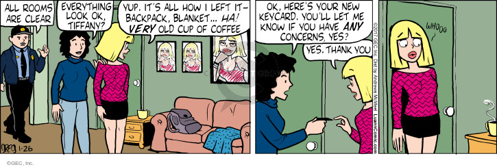 Comic Strip Greg Evans  Luann 2017-01-26 very