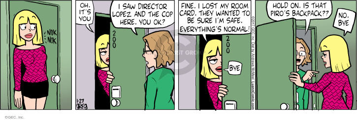 Comic Strip Greg Evans  Luann 2017-01-27 everything