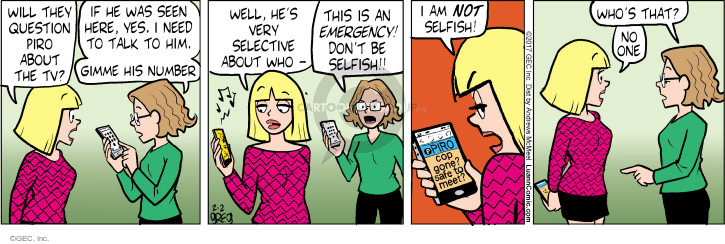 Comic Strip Greg Evans  Luann 2017-02-02 very