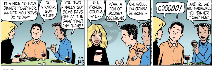 Comic Strip Greg Evans  Luann 2017-02-07 time