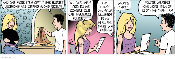 Comic Strip Greg Evans  Luann 2017-02-09 policy