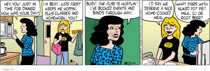 Comic Strip Greg Evans  Luann 2017-02-15 beverage