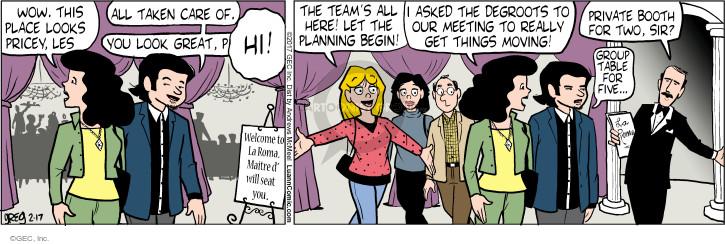 Comic Strip Greg Evans  Luann 2017-02-17 care