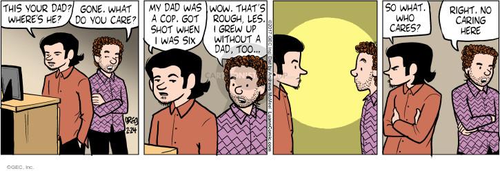 Comic Strip Greg Evans  Luann 2017-02-24 care