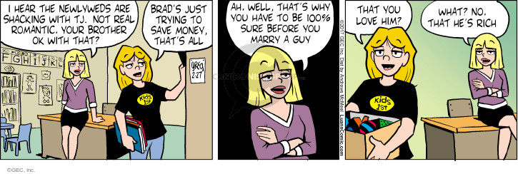Comic Strip Greg Evans  Luann 2017-02-27 wealth