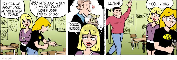 Comic Strip Greg Evans  Luann 2017-03-04 attraction