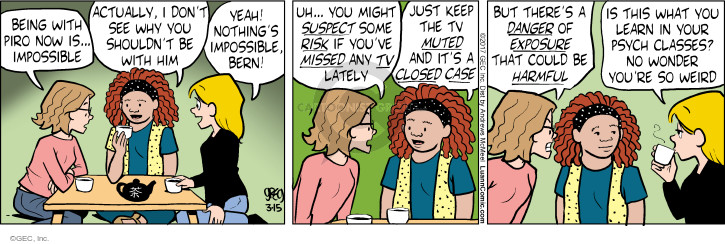 Comic Strip Greg Evans  Luann 2017-03-15 Bern