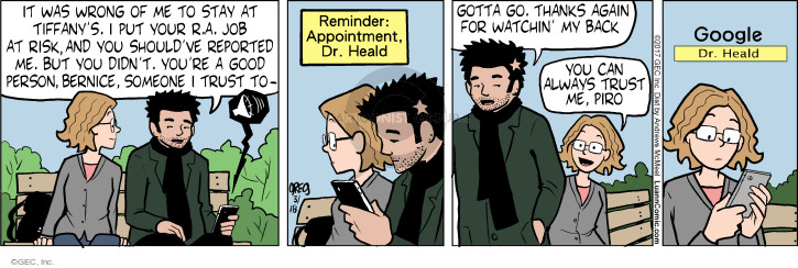 Comic Strip Greg Evans  Luann 2017-03-18 physician