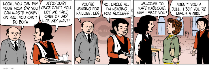 Comic Strip Greg Evans  Luann 2017-03-21 care