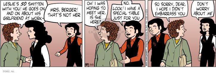 Comic Strip Greg Evans  Luann 2017-03-22 work