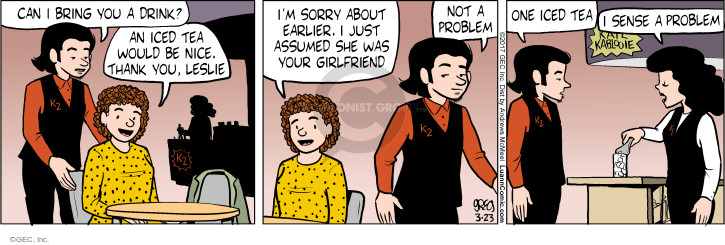 Comic Strip Greg Evans  Luann 2017-03-23 bring