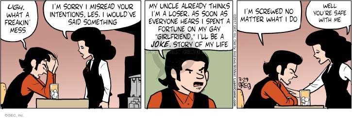 Comic Strip Greg Evans  Luann 2017-03-29 joke