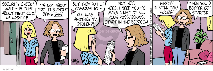 Comic Strip Greg Evans  Luann 2017-04-05 start
