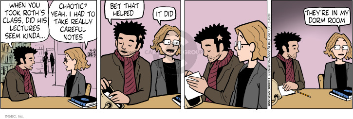 Comic Strip Greg Evans  Luann 2017-04-10 college