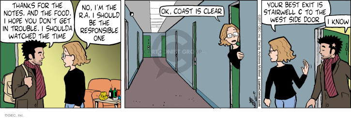 Comic Strip Greg Evans  Luann 2017-04-18 note