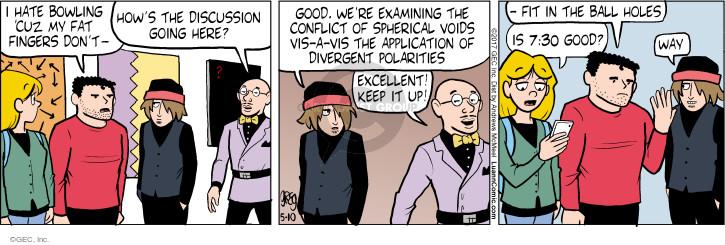 Cartoonist Greg Evans  Luann 2017-05-10 discussion