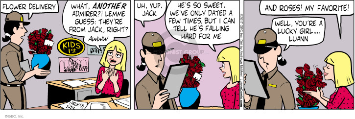 Comic Strip Greg Evans  Luann 2017-05-22 yup