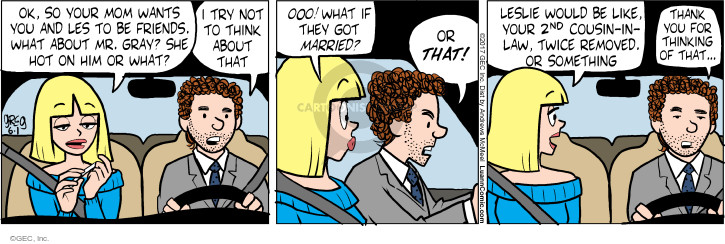 Comic Strip Greg Evans  Luann 2017-06-01 thank you