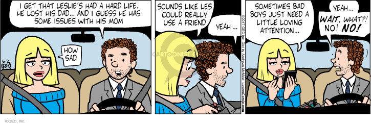 Comic Strip Greg Evans  Luann 2017-06-02 get a life