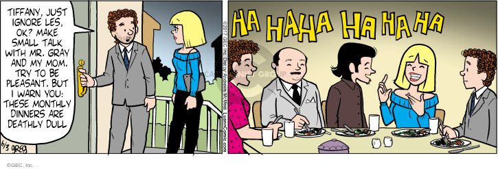 Comic Strip Greg Evans  Luann 2017-06-03 mom