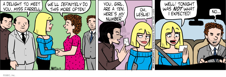 Comic Strip Greg Evans  Luann 2017-06-08 Leslie
